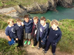 Broad Haven Year 6 pupils