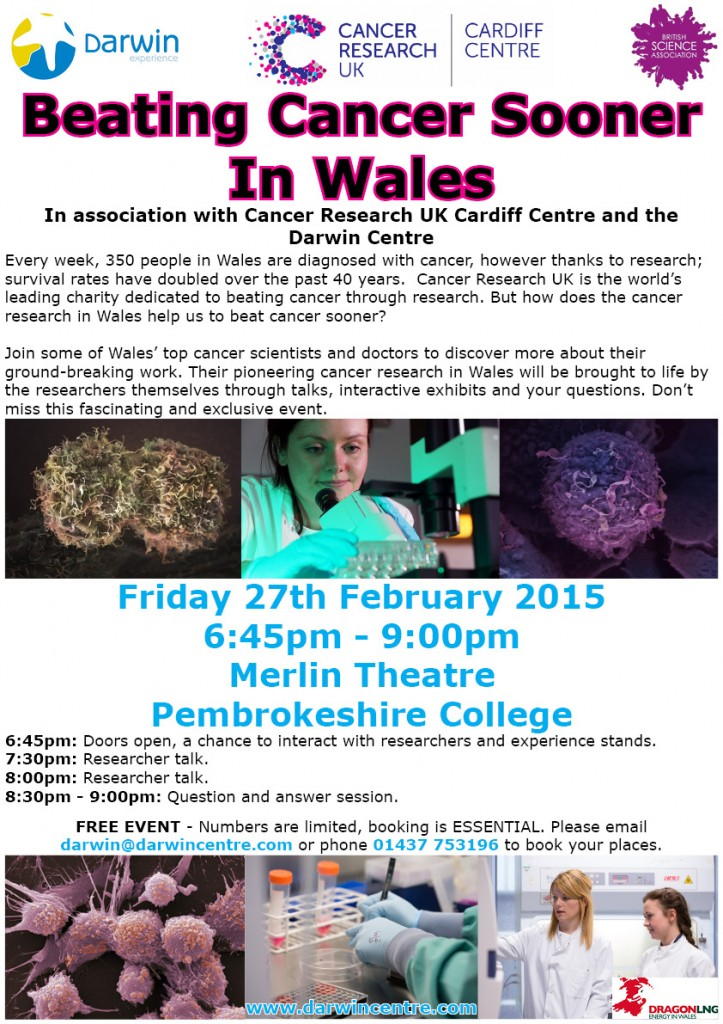 Cancer Research event 27.02.2015